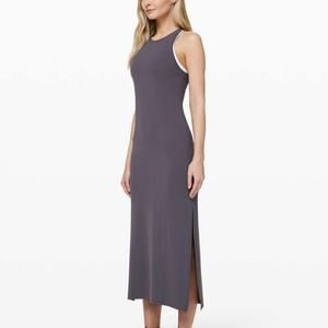 LULULEMON Get Going Maxi Dress Moonwalk Sz 6